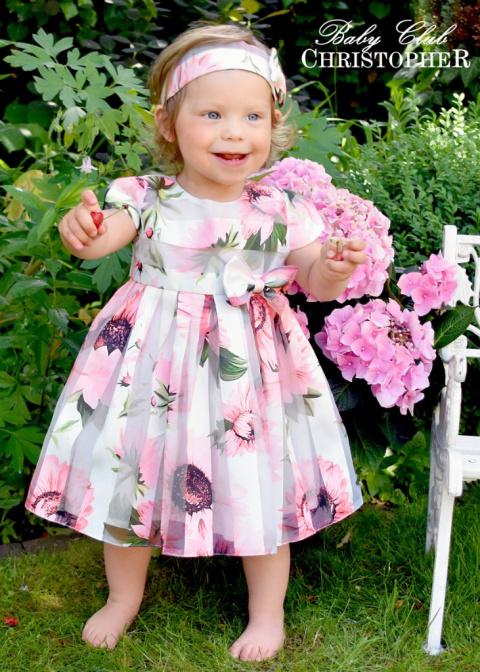 bf29a3b37c Sukienka dla dziewczynki z opaską   Christopher